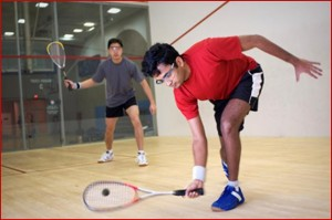 Shatterproof lenses are essential in sports such as squash